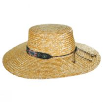 Bossa Milan Straw Boater Hat alternate view 3