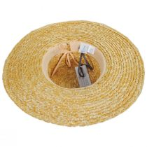 Bossa Milan Straw Boater Hat alternate view 4