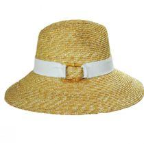 Sasa Milan Straw Fedora Hat alternate view 8
