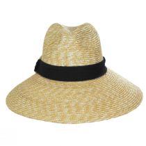 Sasa Milan Straw Fedora Hat alternate view 2