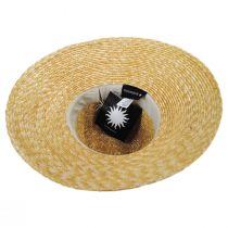 Sasa Milan Straw Fedora Hat alternate view 4