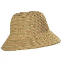 Madison Metallic Toyo Straw Cloche Hat alternate view 3