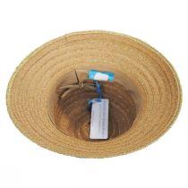 Madison Metallic Toyo Straw Cloche Hat alternate view 4