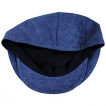 Mattia Denim Blue Linen Ivy Cap alternate view 8