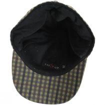 Larry Checkered British Millerain Wax Cotton Earflap Baseball Cap alternate view 10