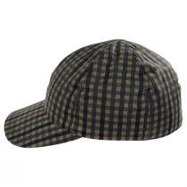 Larry Checkered British Millerain Wax Cotton Earflap Baseball Cap alternate view 13