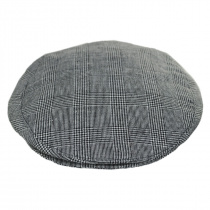 Mel Glencheck Cotton and Linen Ivy Cap alternate view 2