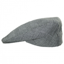 Mel Glencheck Cotton and Linen Ivy Cap alternate view 3