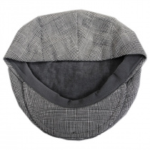 Mel Glencheck Cotton and Linen Ivy Cap alternate view 4
