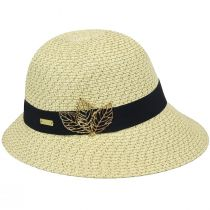Franoise Toyo Braid Cloche Hat alternate view 2