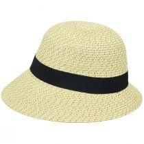 Franoise Toyo Braid Cloche Hat alternate view 3