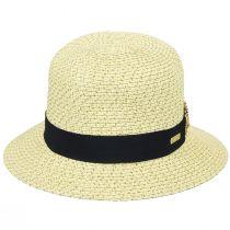 Franoise Toyo Braid Cloche Hat alternate view 4