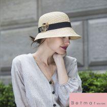 Franoise Toyo Braid Cloche Hat alternate view 6
