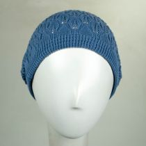 Gabby Cotton Knit Pointelle Beret alternate view 4