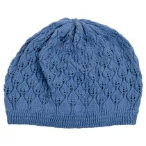 Gabby Cotton Knit Pointelle Beret alternate view 5