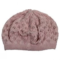 Gabby Cotton Knit Pointelle Beret alternate view 8