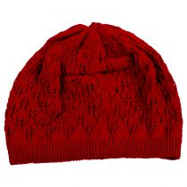 Gabby Cotton Knit Pointelle Beret alternate view 11