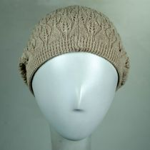 Gabby Cotton Knit Pointelle Beret alternate view 13