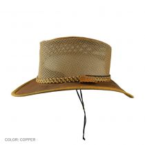 Monterey Bay Breeze Leather and Mesh Hat alternate view 5