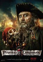 Pirates of the Caribbean Blackbeard Tricorn Hat alternate view 2