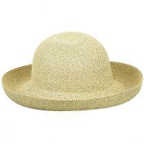 Classic Toyo Straw Roll Up Sun Hat alternate view 4