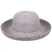 Classic Toyo Straw Roll Up Sun Hat alternate view 5