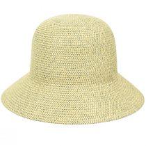 Gossamer Toyo Straw Blend Cloche Hat alternate view 8