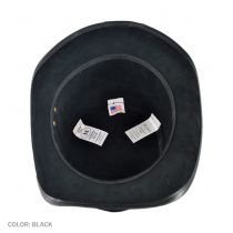 Stoker Suede Topper Hat in
