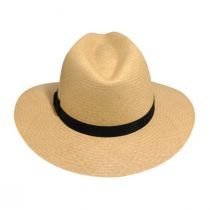 Player Panama Straw Fedora Hat alternate view 2