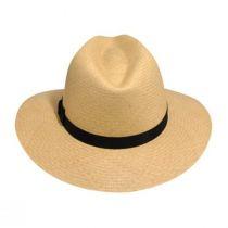 Player Panama Straw Fedora Hat alternate view 10
