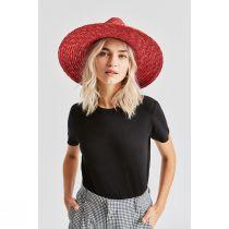 Joanna Red Wheat Straw Fedora Hat alternate view 18