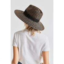 Joanna Blackwash Wheat Straw Fedora Hat alternate view 8