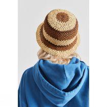 Essex Crochet Raffia Straw Bucket Hat alternate view 9