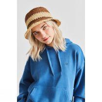 Essex Crochet Raffia Straw Bucket Hat alternate view 17