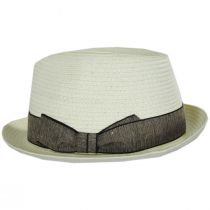 Luigi Toyo Straw Fedora Hat alternate view 19