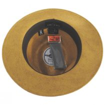 Cannes Toffee Toyo Straw Fedora Hat alternate view 4