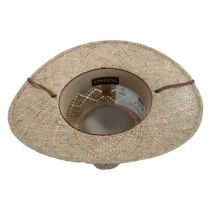 Terrace Seagrass Straw Outback Hat alternate view 4