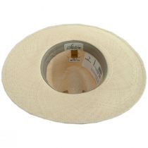 Naturalist Wide Brim Panama Straw Fedora Hat alternate view 8