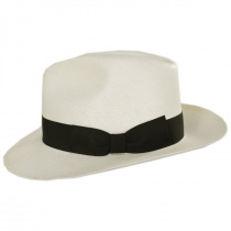Nice Shantung Straw Fedora Hat alternate view 3