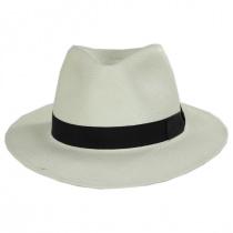 Cannes Toyo Straw Fedora Hat alternate view 2