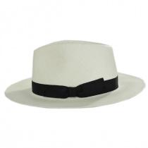 Cannes Toyo Straw Fedora Hat alternate view 3