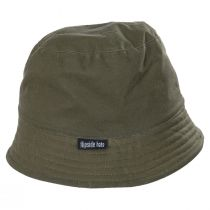 Reversible Waxed Cotton Bucket Hat alternate view 2