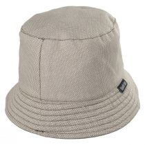 Reversible Waxed Cotton Bucket Hat alternate view 3