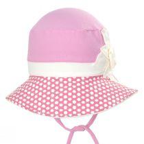 Kids' Eco Pink Cotton Blend Sun Hat alternate view 2