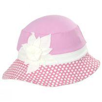 Kids' Eco Pink Cotton Blend Sun Hat alternate view 3