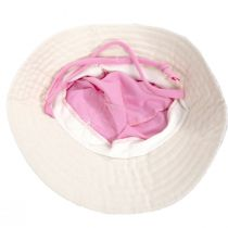 Kids' Eco Pink Cotton Blend Sun Hat alternate view 4