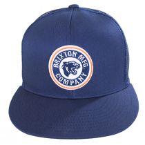Forte Mid Pro Trucker Snapback Baseball Cap - Blue alternate view 2