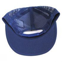 Forte Mid Pro Trucker Snapback Baseball Cap - Blue alternate view 4