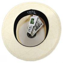 Panama Straw Skimmer Hat alternate view 12