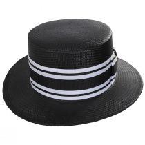Toyo Straw Boater Hat alternate view 2
